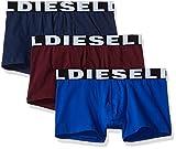 Diesel Men's Shawnthreepack 3pack Trunk, Navy, Royal, Burgundy, Medium