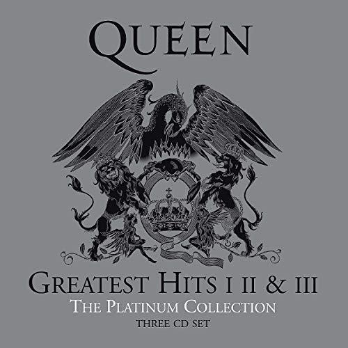 Queen Greatest Hits I, II & III - Platinum Collection - 3 CD