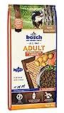 bosch HPC Adult mit frischem Lachs & Kartoffel | Hundetrockenfutter für ausgewachsene Hunde aller Rassen, 1 x 15 kg