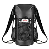 OUTXE 100% Waterproof Dry Bag Backpack 20L/10L Totally Sealed PVC-Free (20L)