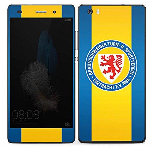 DeinDesign Huawei P8 lite (2015-2016) Folie Skin Sticker aus Vinyl-Folie Aufkleber Eintracht Braunschweig Fanartikel Football