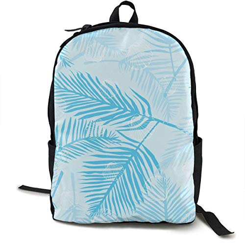 Hipiyoled Schulrucksack Seashells Marine Blue Bookbag Lässige Reisetasche für Teen Boys Girls