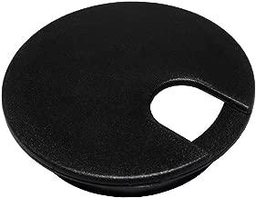 Bainbridge - Cord Grommet, 3 inches, Black, 2 Pack