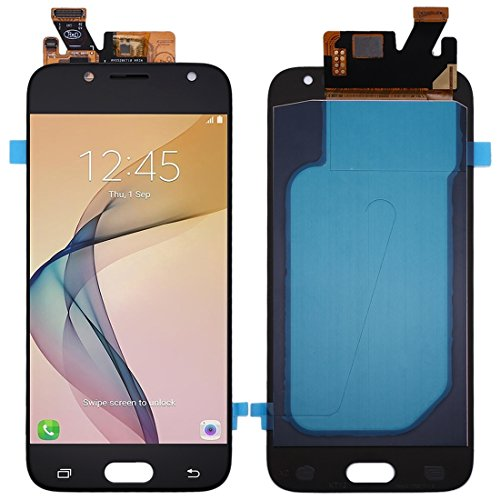 Compatibele Vervangings IPartsBuy for Samsung Galaxy J530 / J5 (2017) OLED Materiaal LCD-scherm + Touch Screen Accessory (Color : Black)