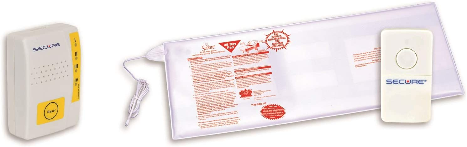 Secure Caregiver Alert System - Complete Free 5% OFF Shipping Weight Pad Sensor wi Sensing Bed