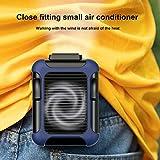 Mini ventilador portátil de refrigeración para aire acondicionado, pequeño ventilador de carga USB para exteriores