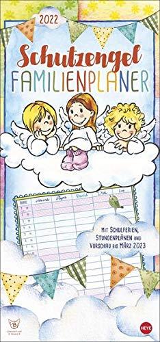 Schutzengel Familienplaner Kalender 2022