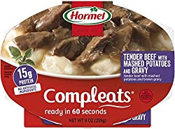 Hormel Compleats- Beef Steak Tips