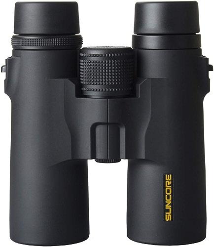 Y&HY Jumelles HD, Lunettes de Champ 8X42 - Télescope portatif à glissière givrée FMC BAK-4 Prism