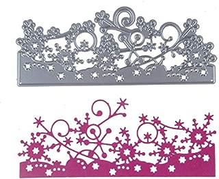 DeemoShop Metal Cutting Dies Lace Christmas Snowflakes Border Scrapbooking Paper Craft Dies Cut Create Stamp Embossing Card Stencil