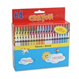 Crayon with Sharpener by SweetHomeStore -