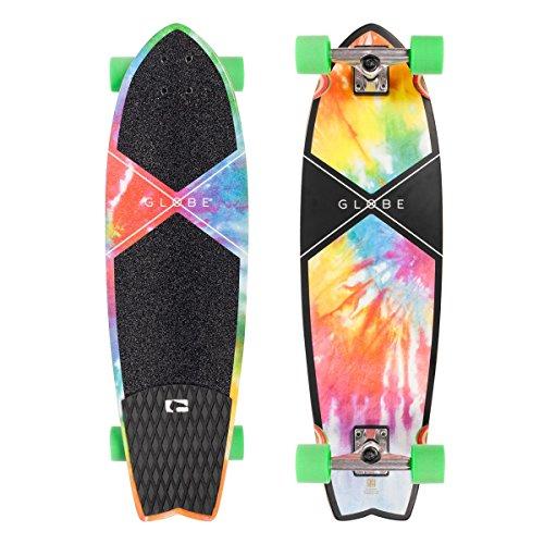 Globe Chromantic Cruiser Tie Dye Skateboard Complete