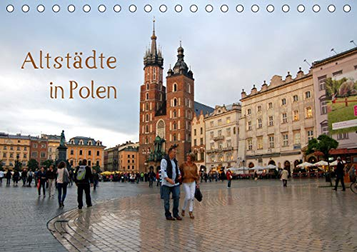 Altstädte in Polen (Tischkalender 2021 DIN A5 quer)