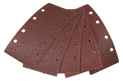 FERM PSA1031 FERM Schuurpapier, 5 stuks - 1xP60, 2xP80 en 2xP120