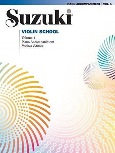 Suzuki Viool School: Piano Accompaniments Volume 1 (Revised Edition) voor viool, piano begeleiding
