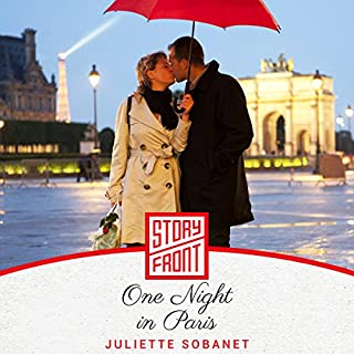 One Night in Paris audiobook cover art