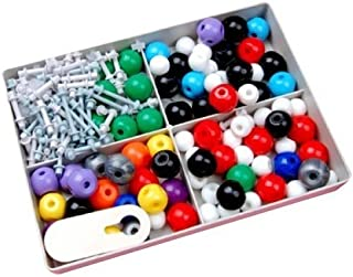 240 pz |Modelo Molecular | Química orgánica e inorgánica | Átomo de la química científica Molecular Modelos Enlaces enseñanza Kit Set by DURSHANI