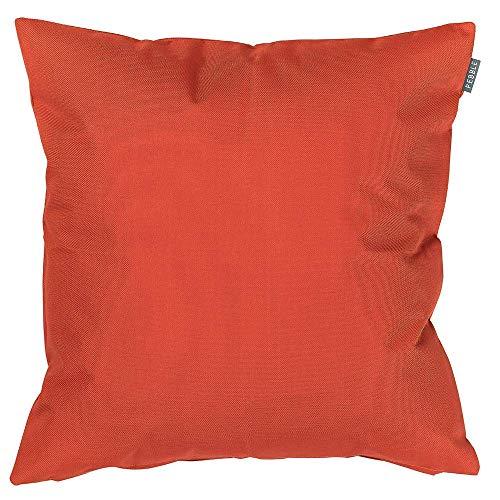 Bean Bag Bazaar Gartenkissen, Terrakotta-Orange, 43cm, Kissen Wasserabweisend, Textilfaserfüllung–, Dekoratives Zierkissen für Gartenbänke, Stühle oder Sofas