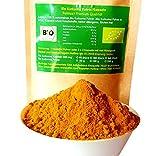 Bio Kurkuma curcuma Pulver + Bio Pfeffer Pulver natürliches Bio Piperin