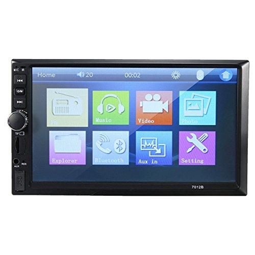 Forspero 7012B 7 Pollici Doppio 2Din Autoradio Stereo Bluetooth Mp4 Mp5 Fm Aux Lettore Usb Touchscreen