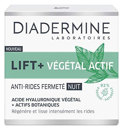 Diadermine - Lift+ - Végétal Actif - Crème de Nuit Anti-Rides Fermeté - 50 ml