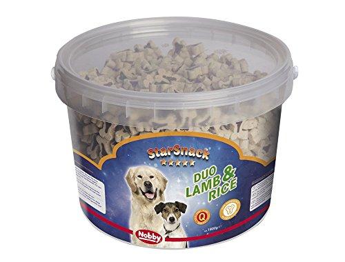 """Nobby StarSnack """"Duo Lamb & Rice"""" Eimer 1,800 g"""