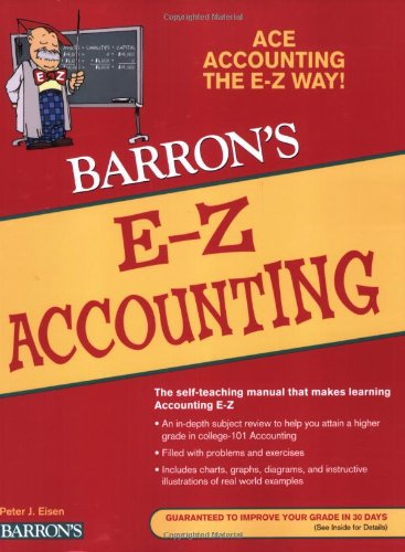 Download E-Z Accounting (Barron's Easy Series) 0764142569
