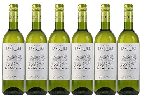 Tariquet Classic, Côtes de Gascogne IGP, Domaine du Ugni Trocken 2020 (6 x 0.75 l)