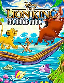 Disney The Lion King Coloring Book: Jumbo Coloring Books for Kids and Teens