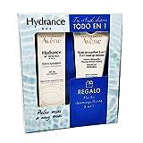 AVENE Pack Hydrance UV Crema Rica + Fluido Desmaquillante 3 en 1