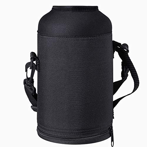 BUZIO Water Bottle Holder Carrying Pouch for 1800ML Bottles - Carry, Protect and Insulate Your Flask with This Military Grade Carrier an Adjustable Padded Shoulder Strap
