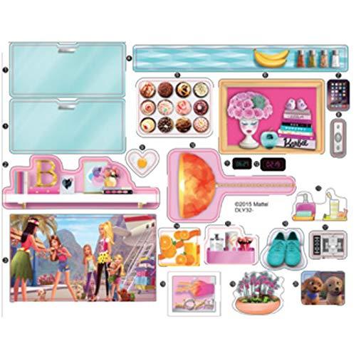 Barbie DLY32 - Pegatinas de repuesto para casa de muñecas de 3 pisos