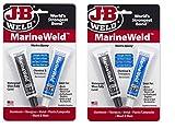 J-B Weld 8272 MarineWeld Marine Epoxy - 2 oz, 2 Sets