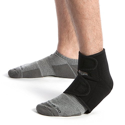 Promagnet Magnetic Therapy Ankle Wrap 16 Magnets (12,300 Gauss per Magnet) Made in USA
