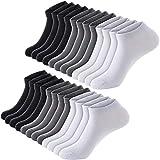 Men Low Cut Socks Anke Men Socks Men Short Socks 100% Cotton Mens Causal Socks 12 pairs white