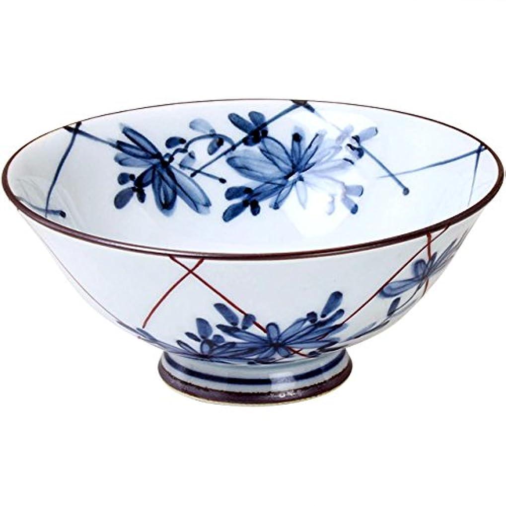 イディオム洗うマニアックランチャン(Ranchant) 茶碗 マルチ Φ11.5x5cm 格子菊 有田焼 日本製