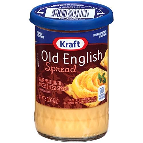 Kraft Old English Sharp Cheddar Cheese Spread (5 oz Jar)
