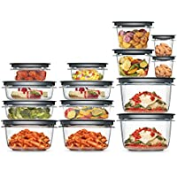 28-Piece Rubbermaid Meal Prep Premier Food Storage Container