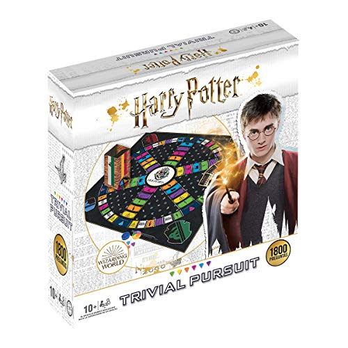 Trivial pursuit Harry Potter 1800 Preguntas - Juego de Mesa - Versión...
