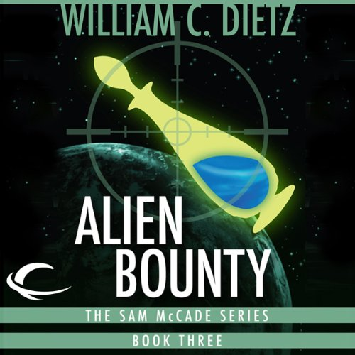 Alien Bounty audiobook cover art
