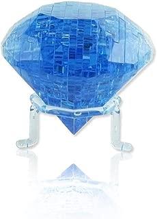 Rnow 3D Crystal Puzzle Cube 41PCS DIY Diamond Model Fancy Toys Handmade Christmas Gift for Age 14+