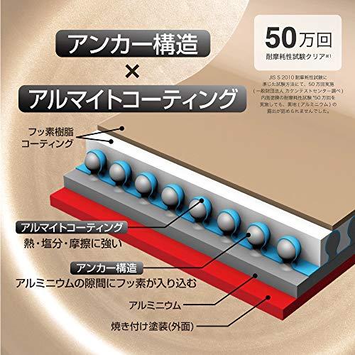 エバークック フライパンセット 3点セット IH対応 ブラック 1年保証 ドウシシャ