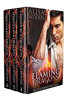 Flaming Dragons Box Set  Books 4-6  Fallen Immortals —Dragon Shifter Paranormal Romance  Fallen Immortals Box Sets Book 2
