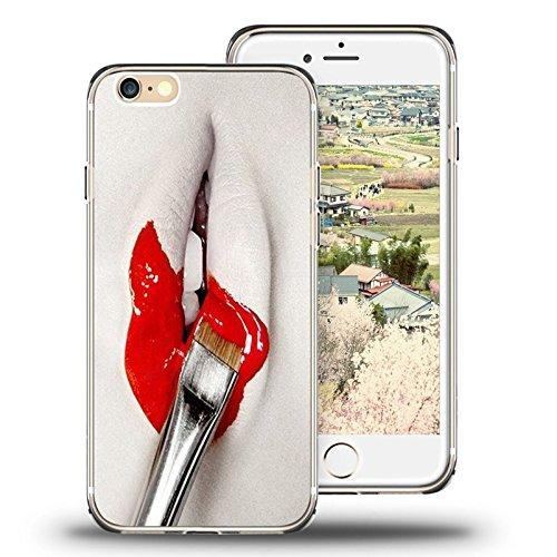 Iphone 6 Plus Case Viwell, 2015 Unique Design Personalized Cool Protective Cover Lipstick