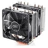 DeepCool NEPTWIN V2 Procesador Enfriador - Ventilador de PC (Procesador, Enfriador, LGA 1150 (Zócalo H3), LGA 1151 (Zócalo H4), LGA 1155 (Socket H2), LGA 1156 (Socket H), LGA 1366..., AMD A, Intel® Celeron®, Intel® Celeron® G, Intel® Core™2 Duo, Intel® Core™ 2 Extreme,..., 12 cm, 900 RPM)