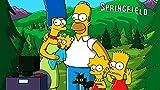 ZYYSYZSH Colección Jigsaw Puzzle - A Todo Color (1000 Piezas) Los Simpsons en Frente de la atracción - DIY Adult Kids Grown Up Puzzles Juegos educativos para niños Adultos Regalos-cartón (38x26cm)