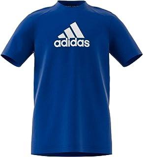 adidas Boys' B BOS TEE Tennis Shorts, Team Royal Blue/White, 7 Years