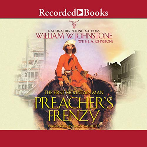 Preacher's Frenzy audiobook cover art