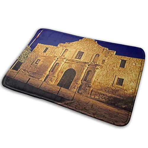 ZCHW Felpudo The Alamo Nature Felpudo de Entrada Alfombra de Piso Alfombra Interior/Exterior/Puerta de Entrada/Alfombrillas de baño 40X60CM