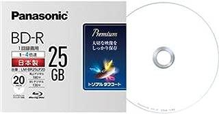 == まとめ == パナソニック/録画用BD-R / 25GB4倍速 / 5mmスリムケース / LM-BR25LP20 / 1パック - 20枚 - / - ×2セット -